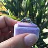 4.05ct Emerald and Old European Cut Diamond Ring 41
