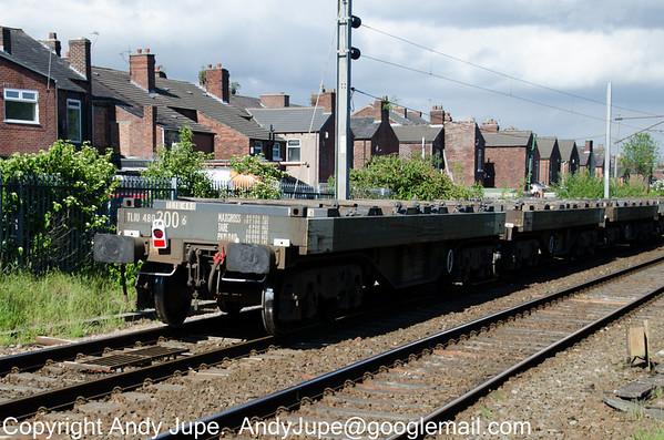 BVA - Bogie Steel Flat Wagon