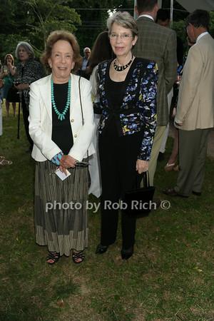 Barbara Slifka, Patsy Steffan photo by Rob Rich/SocietyAllure.com © 2014 robwayne1@aol.com 516-676-3939