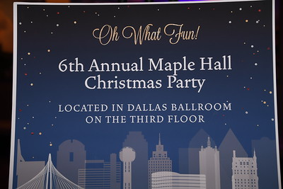 12-20-2018 Maple Hall Christmas Party @ Omni