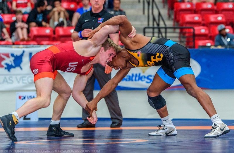 2019 OP: UWW JUNIORS: SEMIFINALS