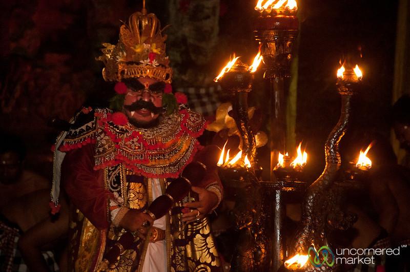 Evil Giant in Kecak Show - Ubud, Bali