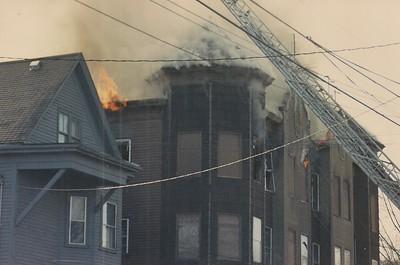 Cedar St Fire