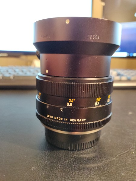 Leica R Summilux 50 mm 1.4 I - Converted to Nikon Mount - Serial 2806020 003.jpg