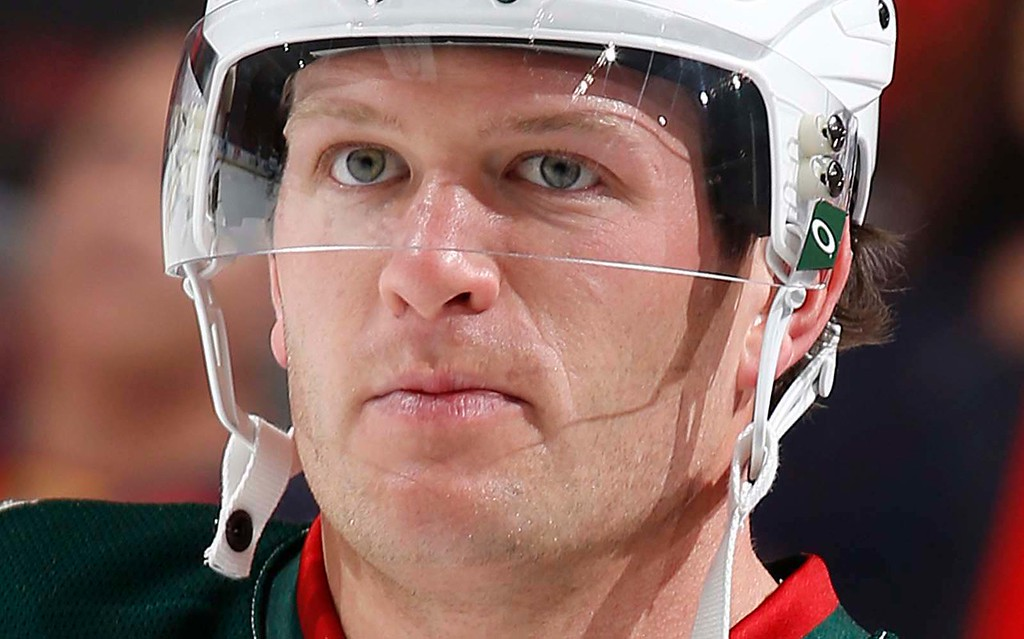 . Minnesota Wild defenseman Ryan Suter is 32. His late father, Bob Suter, played on the Miracle on Ice U.S. hockey team in the 1980 Winter Olympics, (Getty Images: Joel Auerbach)