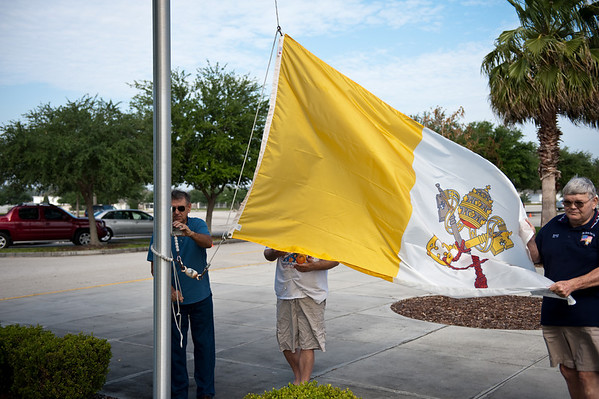 Blessing of the Flags