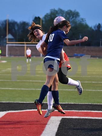 DSM Roosevelt @ Fort Dodge Girls Soccer 4/21/17