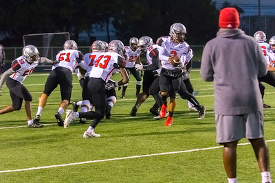 2018-10-26 Butler High School Football @ Garringer