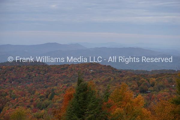Peak Colors at Beech Mountain - October 2020