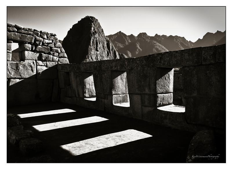 Temple of Three Windows. Machu Picchu, Peru