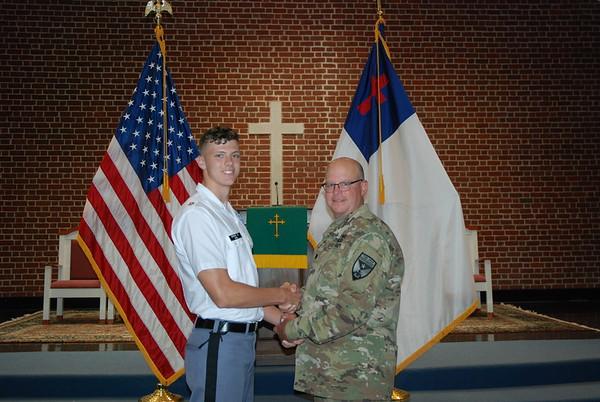 Cadet Leadership Rank Ceremony