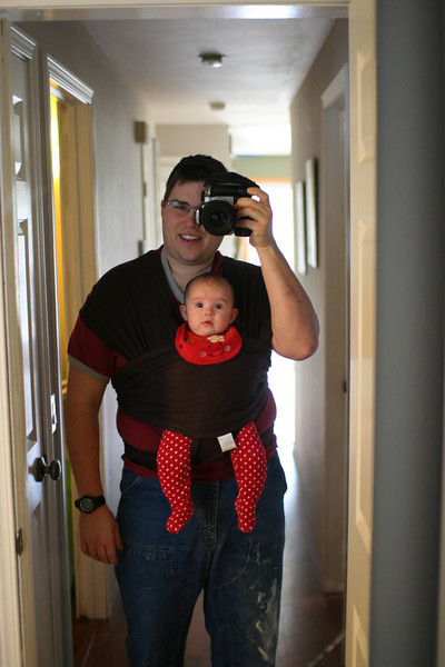 The Magic Mommy Wrap works for Daddies too