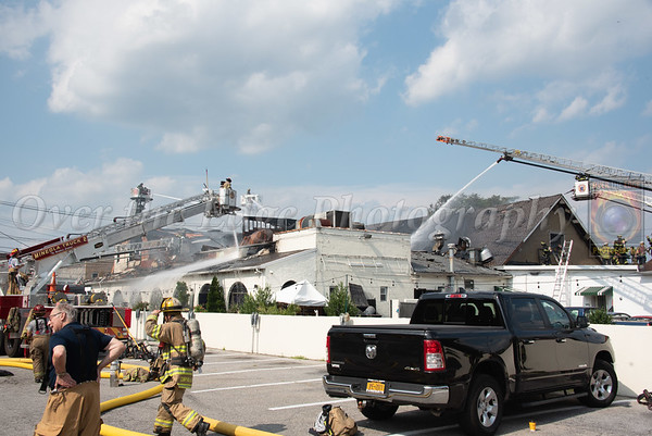 Mineola Building Fire 08/27/2020