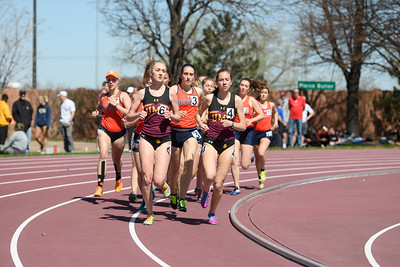 2019 05 04 Macalester Women Track Events at Hamline UnSaintly