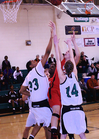 2010/01/22 BHS Girls Basketball - Butler @ Myers Park