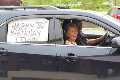 50th Birthday Parade for a Tina Vehagel at Life Care Centers of Valparaiso 2020
