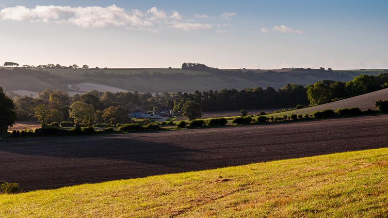 Farmland in the Dorset Downs
