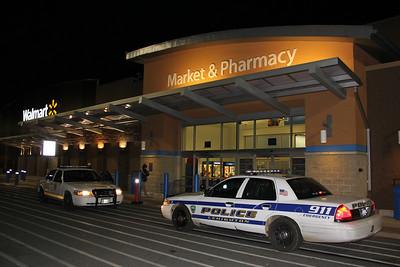 Paintball Attack, Wal-Mart, Lehighton (11-26-2012)