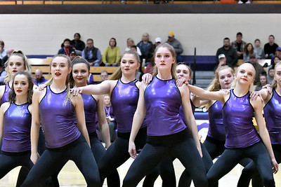 Laker Dance at Basketball vs Rolla 2-4-20