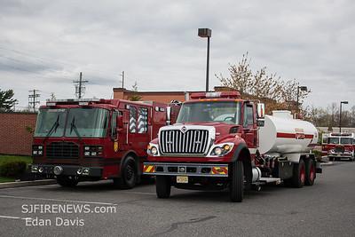 04-29-2018, Gloucester County Foam Task Force Drill,  Mantua NJ, Woodbury Glassboro Rd. Lowe's