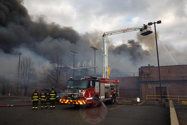 5-11 Alarm of Fire / Level 1 Haz-Mat  2401 N. Keeler April 2019