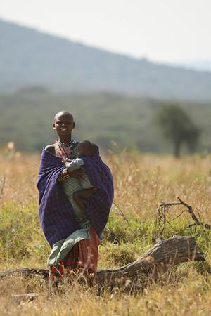 East Africa, Serengeti and Zanzibar - Maasai Village