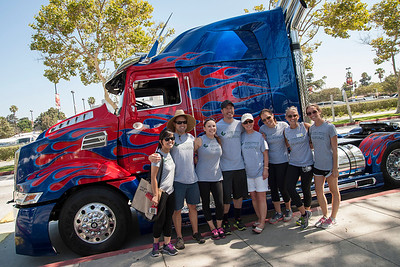 1551 Transformers Walk for Wishes Event