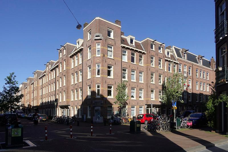 Nederland, Amsterdam, 8 mei 2017, familie van Lent de Roever, Fannius Scholtenstraat van Beuningenstraat, foto: Katrien Mulder