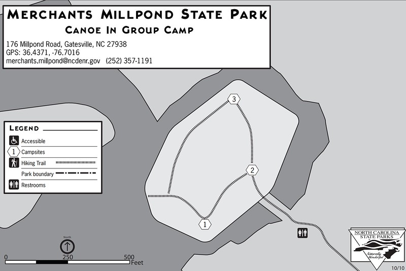 Merchants Millpond State Park (Canoe-In Group Camp)
