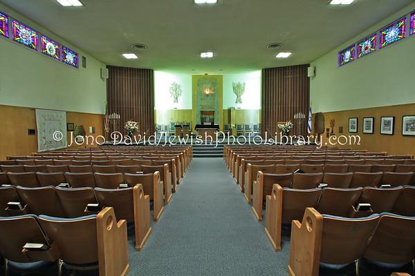 USA, California, Los Angeles, Hollywood. Temple Knesset Israel. (3.2012)