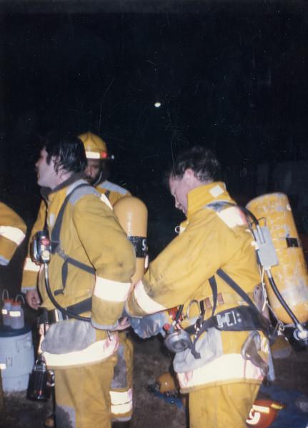 Fire School 1982