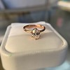 1.05ct Oval Cut Diamond Solitaire, GIA H SI1 31