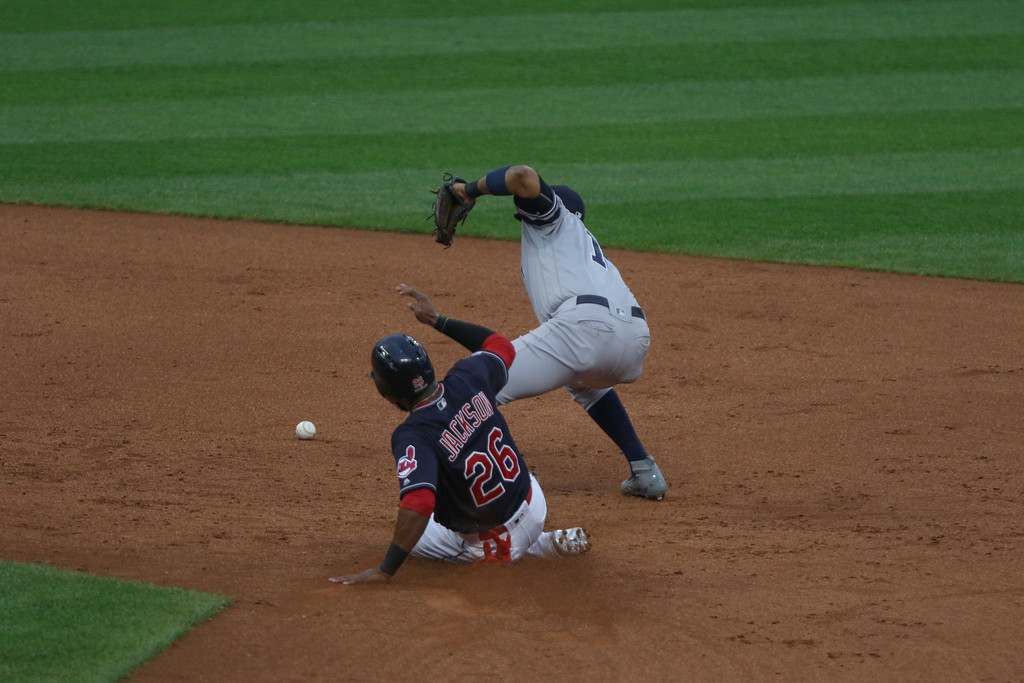 . Tim Phillis - The News-Herald Action from Game 2 of the ALDS between the Yankees and Indians Oct. 6.