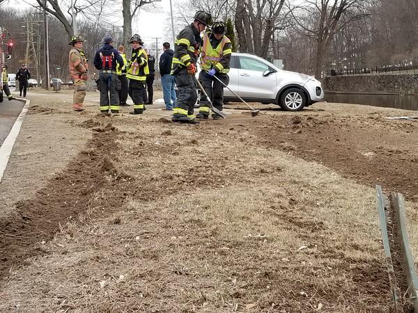 3/21/2018 Justin Muszynski | StaffA rollover crash on Memorial Boulevard in Bristol sent one man to the hospital Wednesday morning.