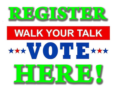 Register to Vote Banners