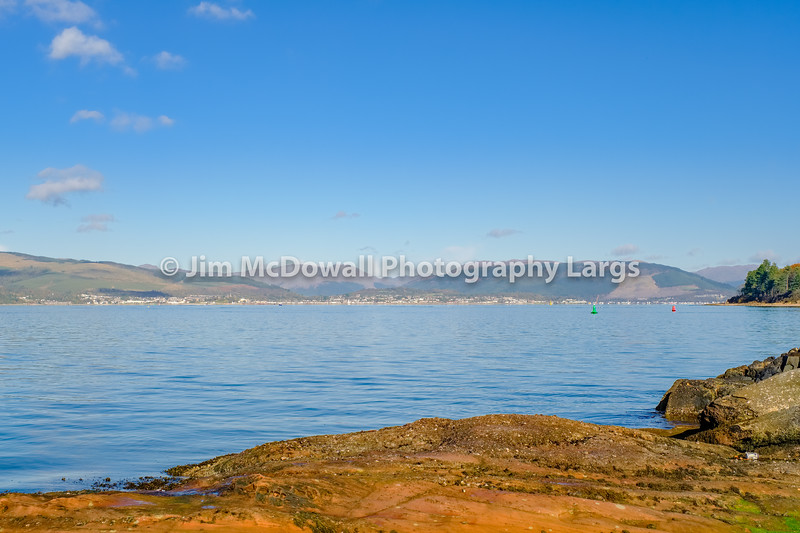 Dunoon Kilgreggan & Strone from Inverkip Scotland.