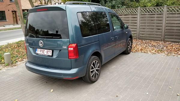 VW Caddy kort