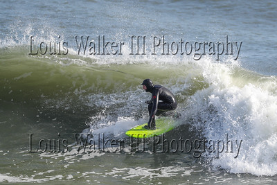 Surfing at Ruggles- February 8, 2020