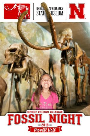 181025 Morrill Hall Fossil Night
