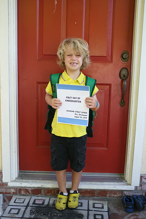 Dash goes to Kindergarten