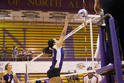 UNA Volleyball vs Lee 2015