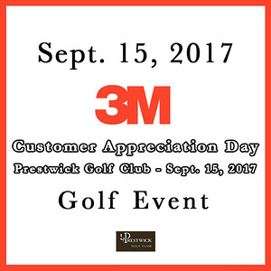 3M Customer Appreciation Day Golf Event 2017