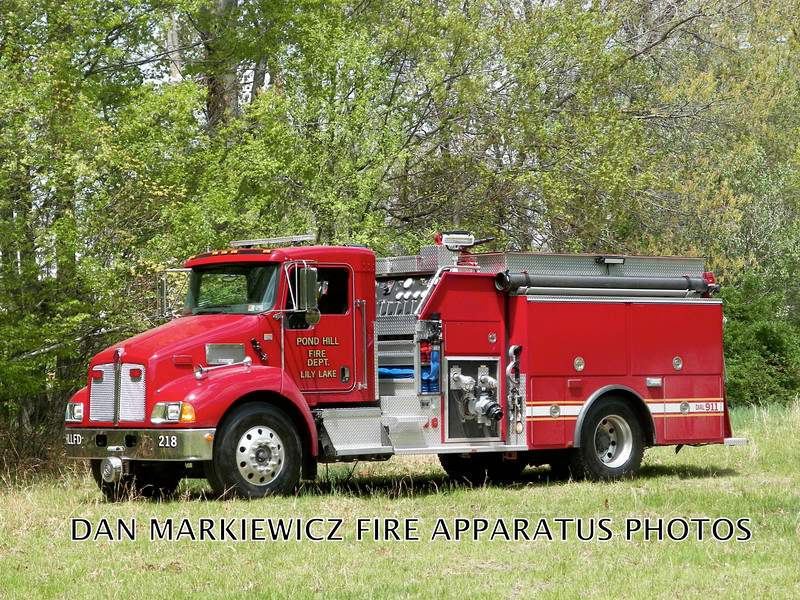 POND HILL LILY LAKE FIRE CO