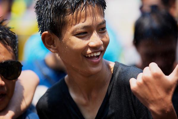 Songkran 2013, Chiang Mai, Thailand