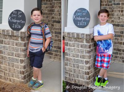 2017 - Holden Last Day of Kindergarten