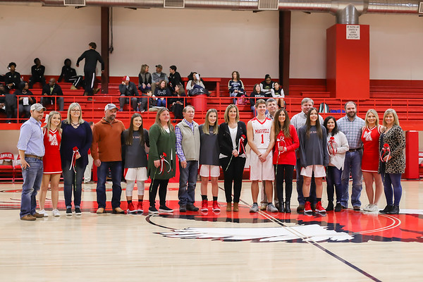 Marvell Academy Senior Recognition (Basketball), 1/28/2019