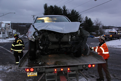 Two Vehicle Accident, SR209, Middleport (12-30-2012)