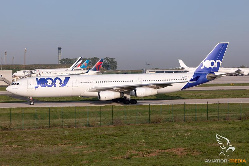 Joon | Airbus A340-313X | F-GLZO