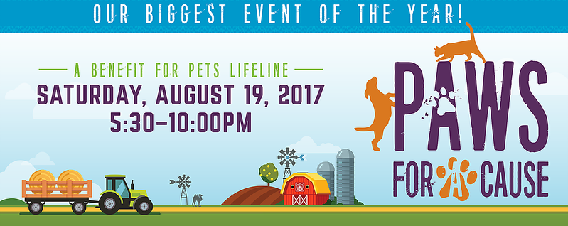 2017- Pets Life line PAWS for the CAUSE