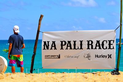 Na Pali Race 8/7/2011 SUP/Paddle